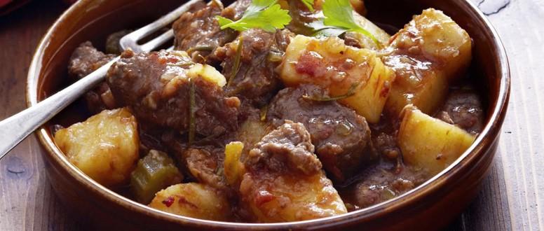 وصفات افطار صحية: صينية البطاطا باللحم