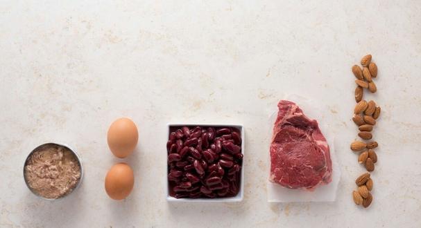 الحصص الغذائية للبروتينات
