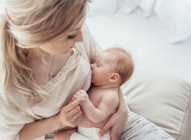العناية بالثدي بعد الولادة