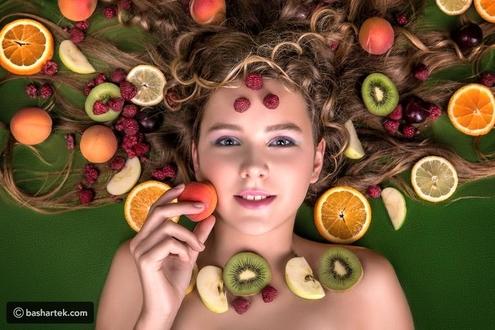 سبعة منتجات غذائية لشعر صحي وجذاب